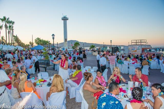 First Annual Chocolate Clam Festival in Loreto. First Annual Almejas Festival in Loreto