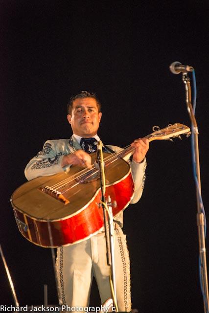 First Annual Chocolate Clam Festival in Loreto. Mariachis perform at the First annual Clam Festival in Loreto