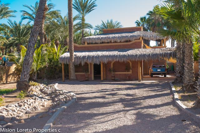 Three bedroom two bath home on large lot in Loreto