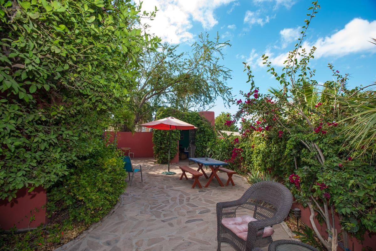 Casa Sueño de Colores back terrace