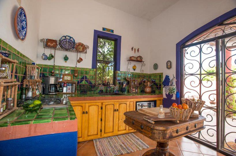 Casa Sueño de Colores kitchen