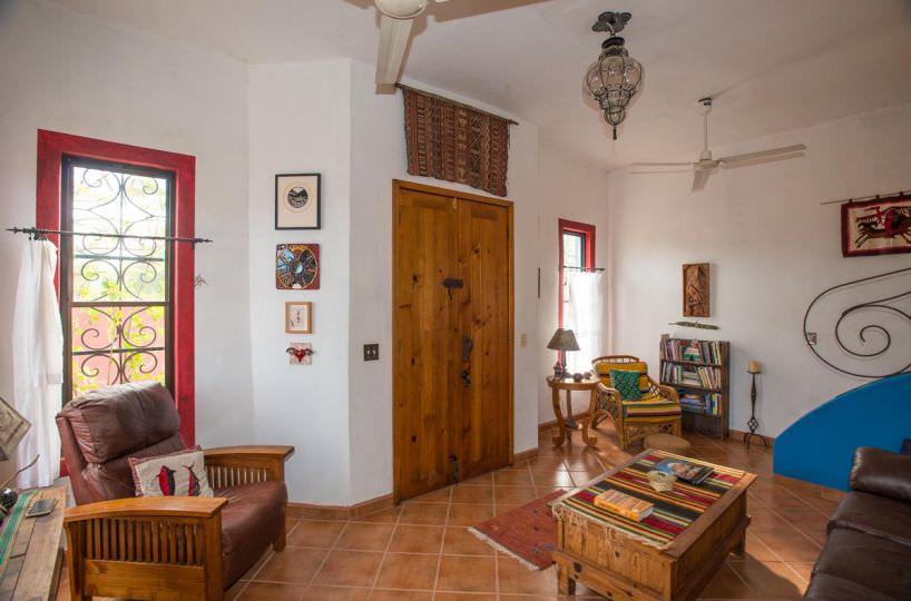 Casa Sueño de Colores living room