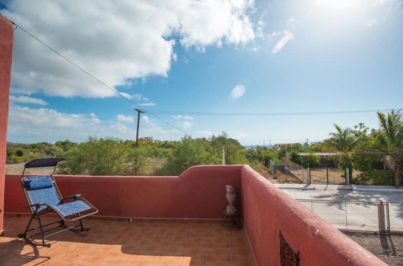 Casa Sueño de Colores view from terrace
