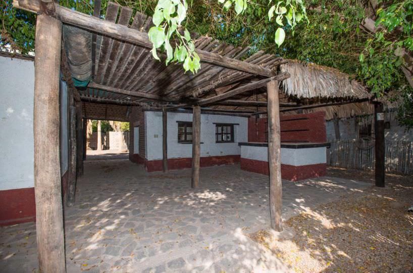 Adobe Building in the Historic District of Loreto Baja Sur