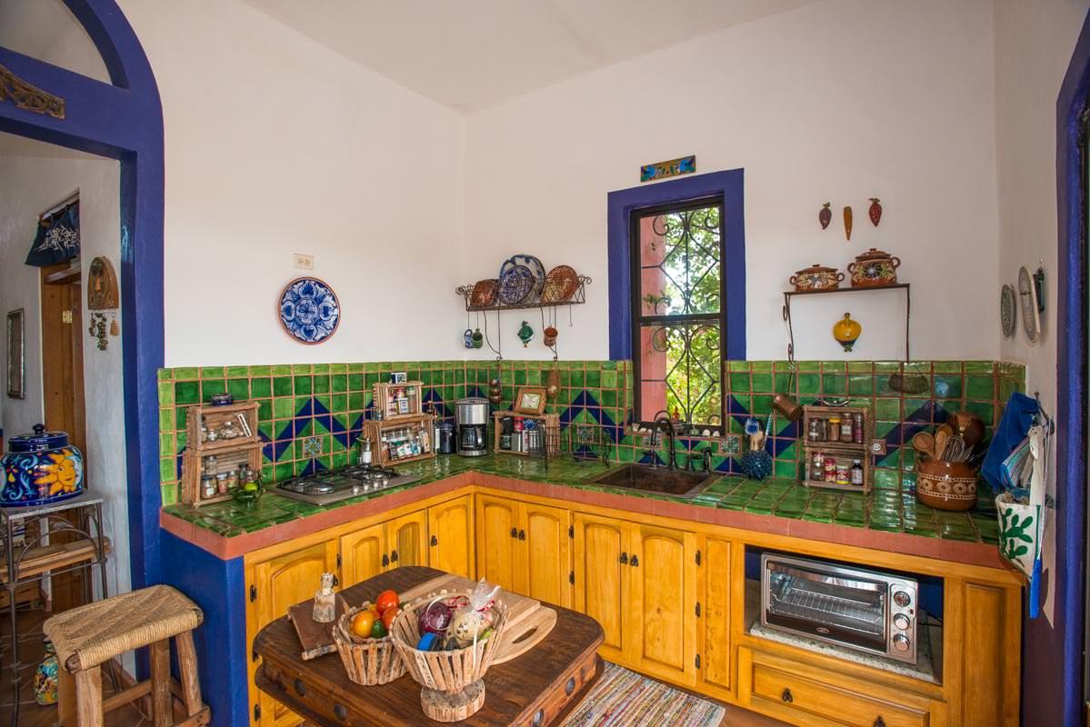 Casa Sueño de Colores kitchen area