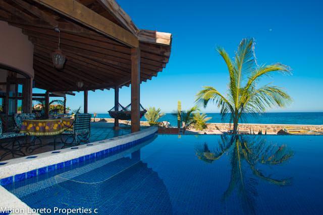 Villa Sirocco for sale in Punta Chivato Baja Sur. misionloreto.com