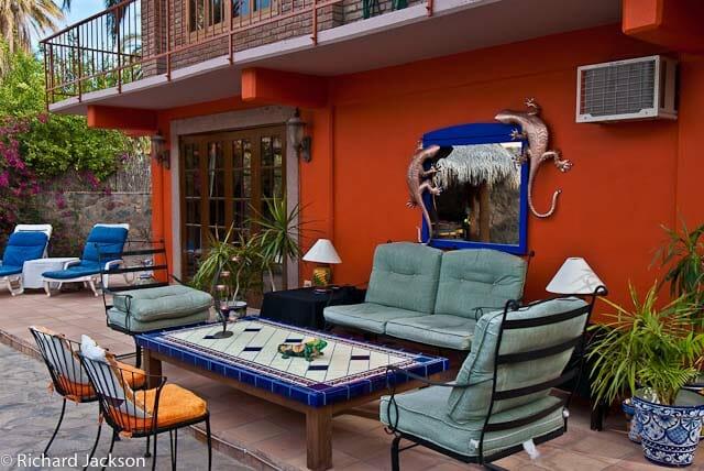 Hacienda Style Mexican Home in Loreto coffee table