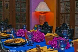 Hacienda Style Mexican Home in Loreto dining table