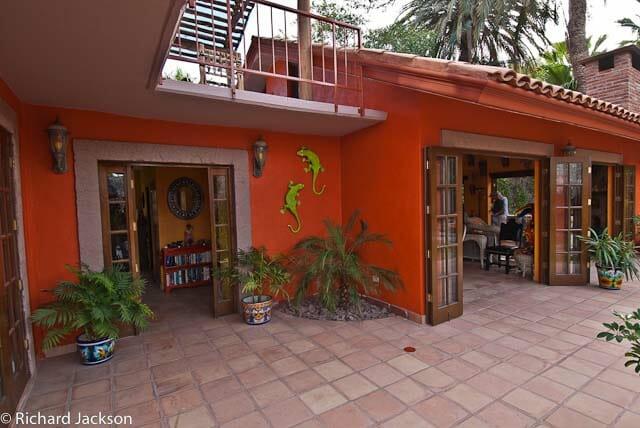 Hacienda Style Mexican Home in Loreto front door image 6