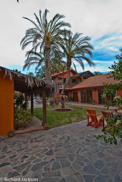 Hacienda Style Mexican Home in Loreto inside approach