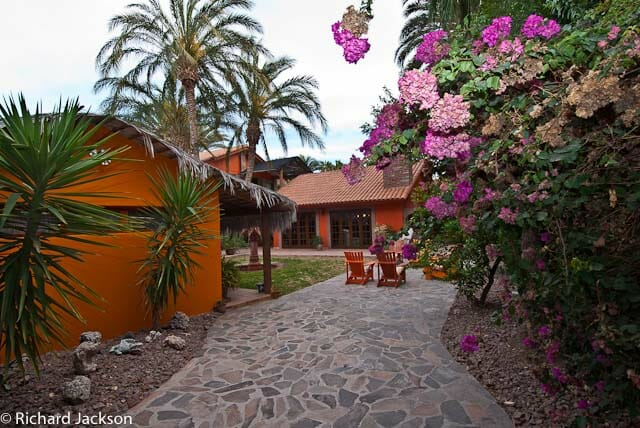 Hacienda Style Mexican Home in Loreto inside gate