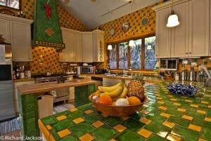 Hacienda Style Mexican Home in Loreto kitchen and counter