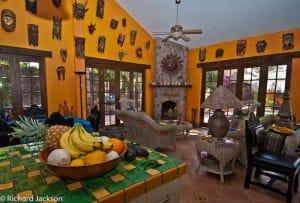 Hacienda Style Mexican Home in Loreto livingroom day 2