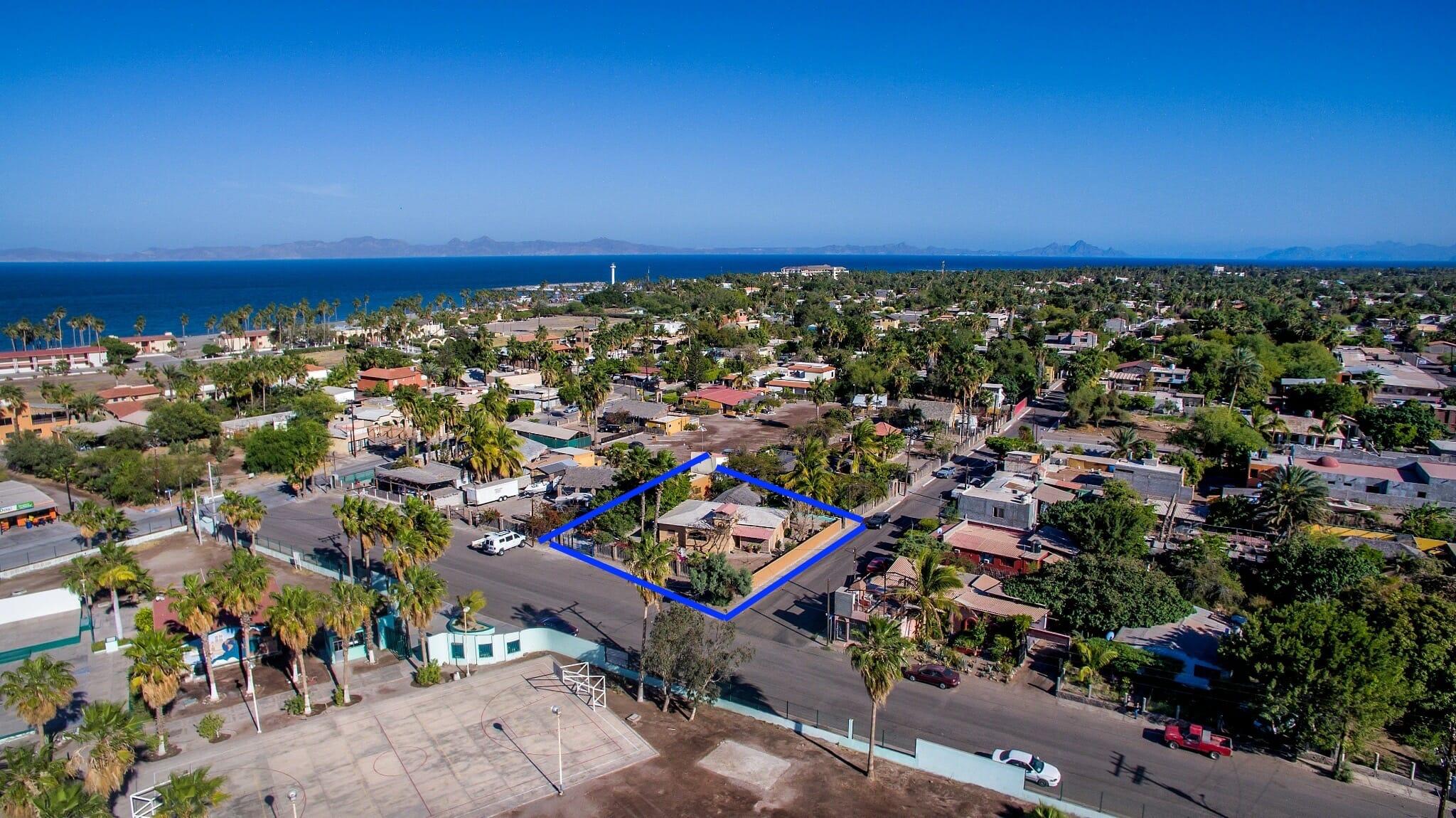 Home for sale in Nopolo, Loreto Baja Sur, Move in Ready!: house for sale in loreto near the Sea
