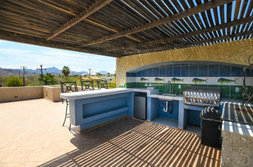 Home for sale in Nopolo, Loreto Baja Sur, Move in Ready! rooftop terrace