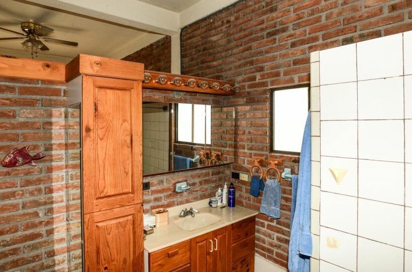Carrillo Loreto Baja Sur Mexico: upstairs bathroom