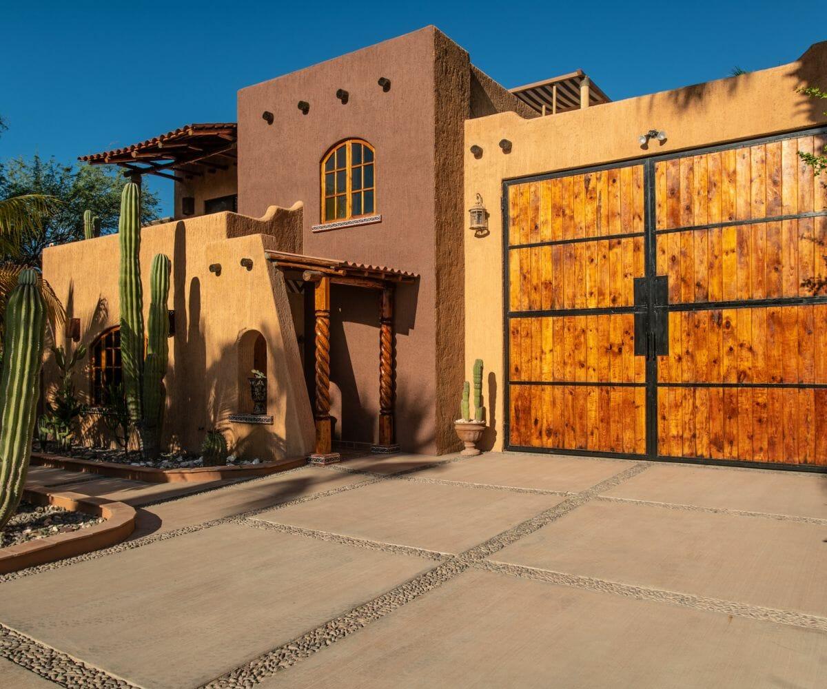 288 Davis St Loreto, Baja California Sur Mexico Front of Casa