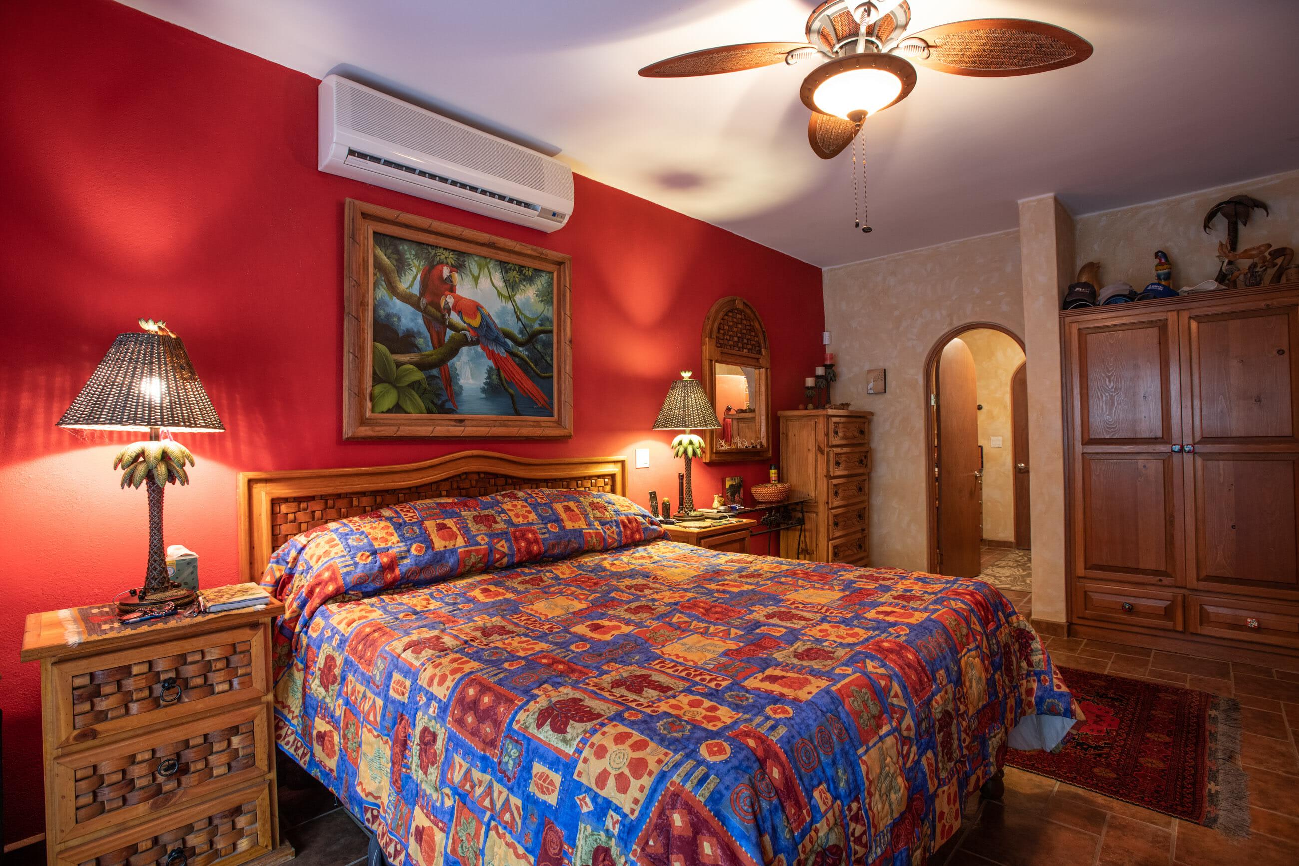 288 Davis St Loreto, Baja California Sur Mexico: Bar Master bedroom