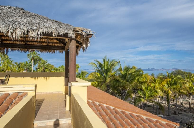Four bedroom home in Loreto on large lot with sea and mountain views: Sea views from third floor.