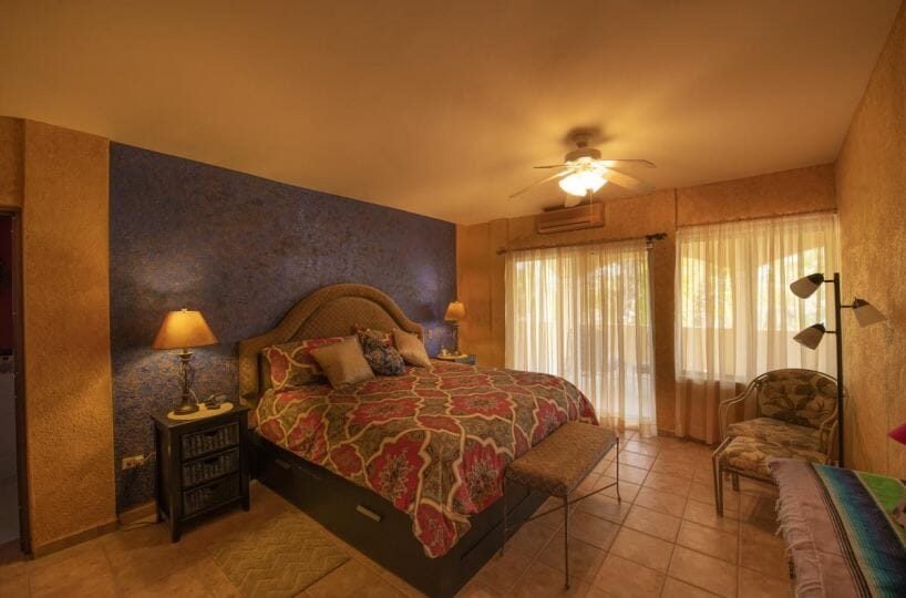 Four bedroom home in Loreto on large lot with sea and mountain views!: master bedroom A