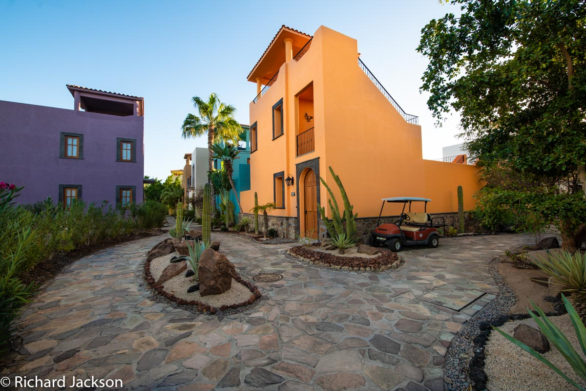 Loreto Bay Home with views and private pool: AV204 golf cart parking