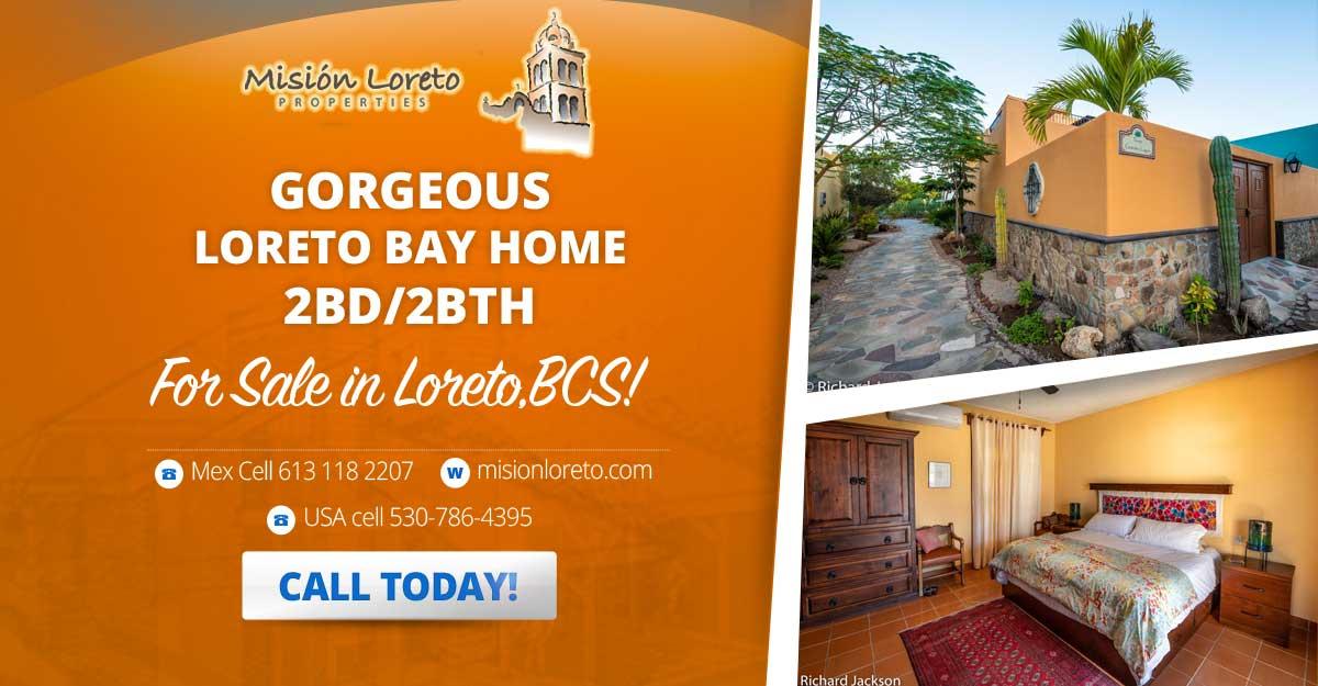 Gorgeous Loreto Bay Home Banner Ad 1200x469