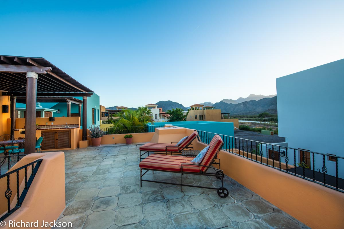 Loreto Bay Home with views and private pool: second floor terrace