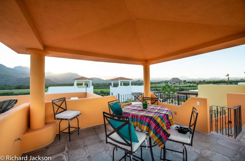 Loreto Bay Home with views and private pool: View from 3rd floor terrace
