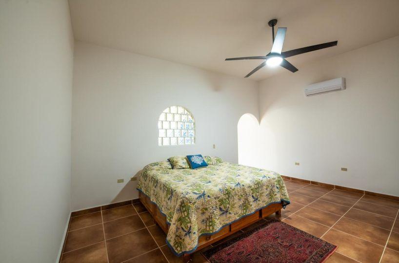 New Beachfront Home in Mil Palmas, Loreto Baja Sur: downstairs bed
