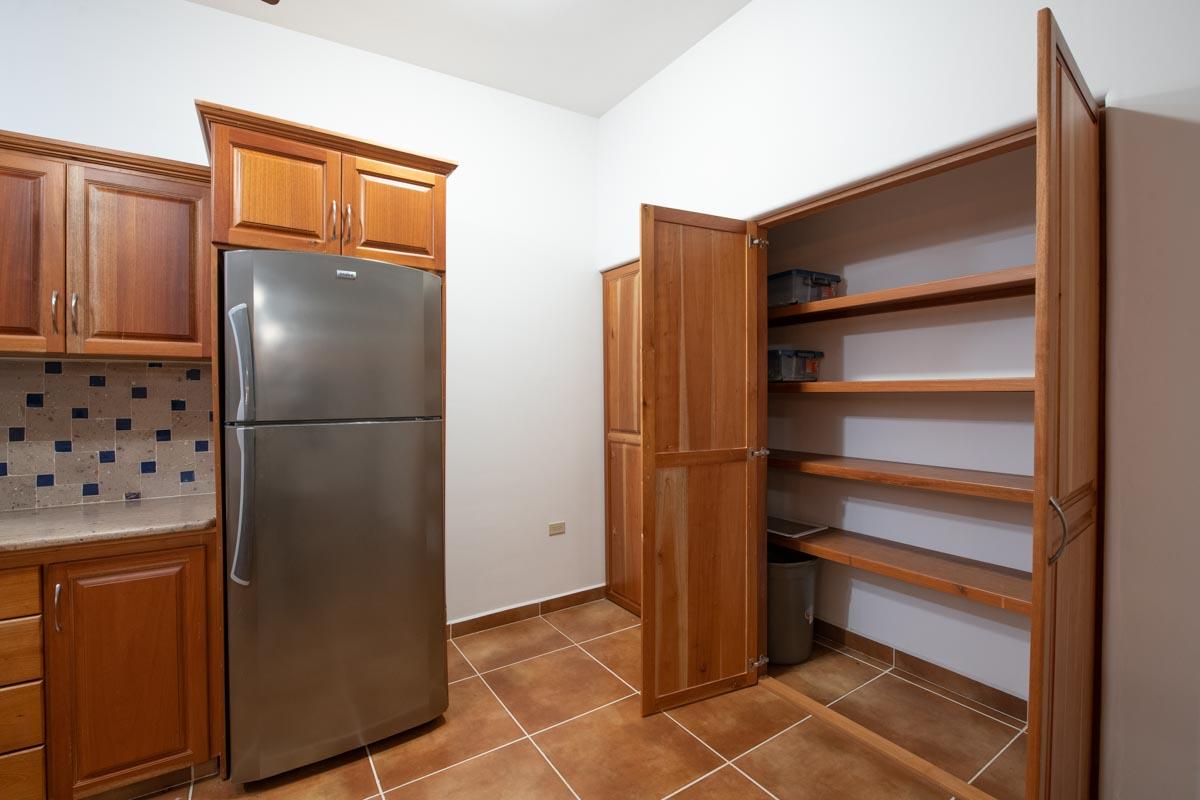 New Beachfront Home in Mil Palmas, Loreto Baja Sur: downstairs pantry