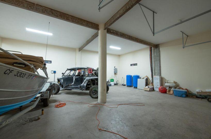 New Beachfront Home in Mil Palmas, Loreto Baja Sur: inside B garage