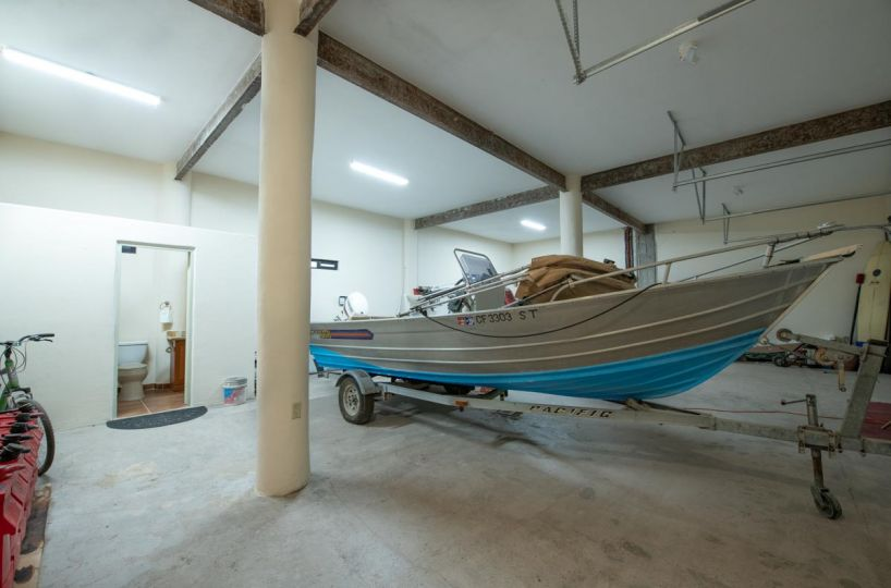 New Beachfront Home in Mil Palmas, Loreto Baja Sur: inside Garage B