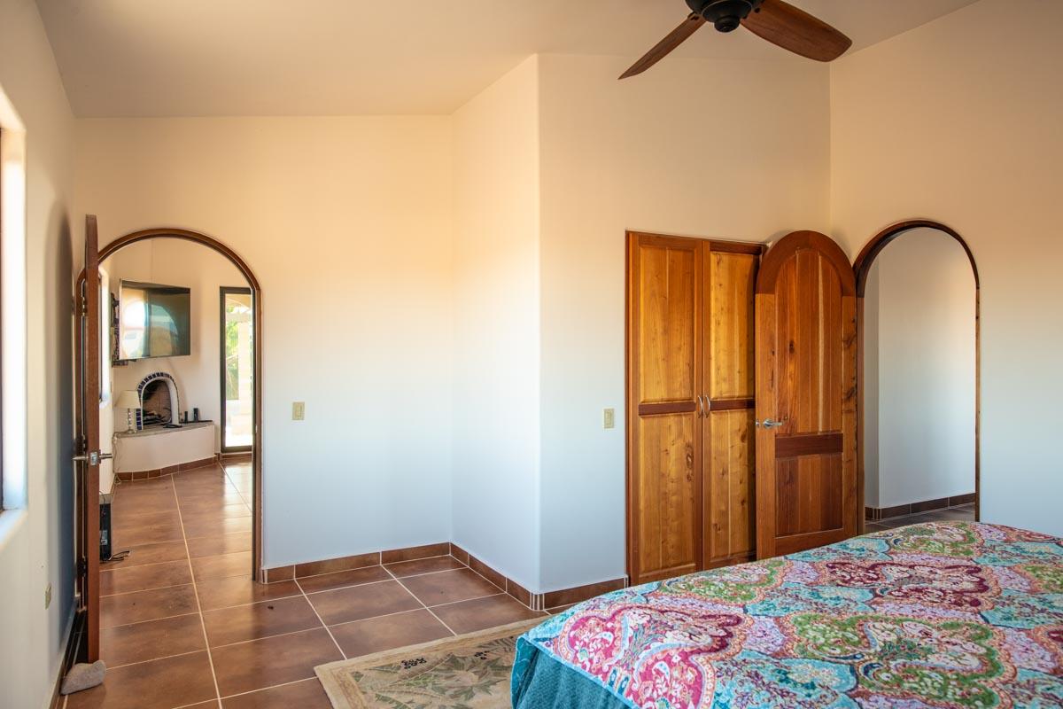 New Beachfront Home in Mil Palmas, Baja Sur Upstairs bed Loreto Baja Sur: