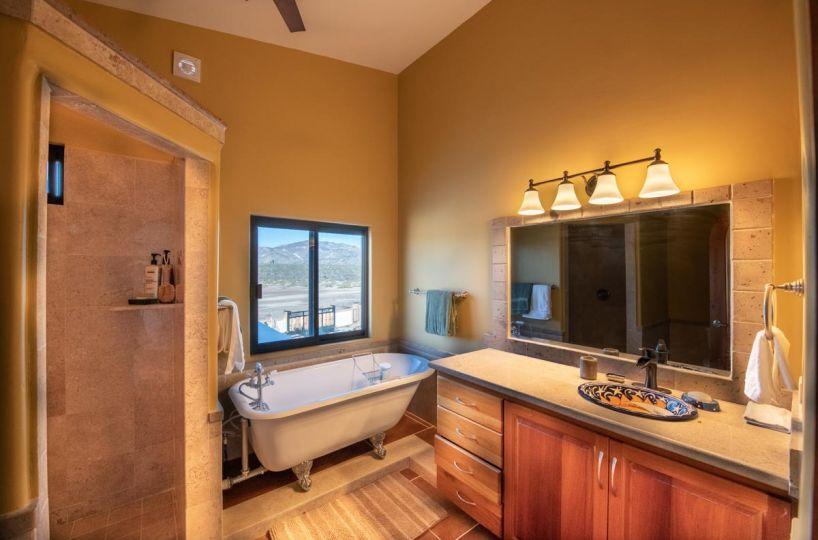 New Beachfront Home in Mil Palmas, Loreto Baja Sur: upstairs full bath