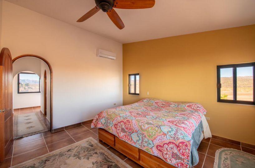 New Beachfront Home in Mil Palmas, Loreto Baja Sur: upstairs room