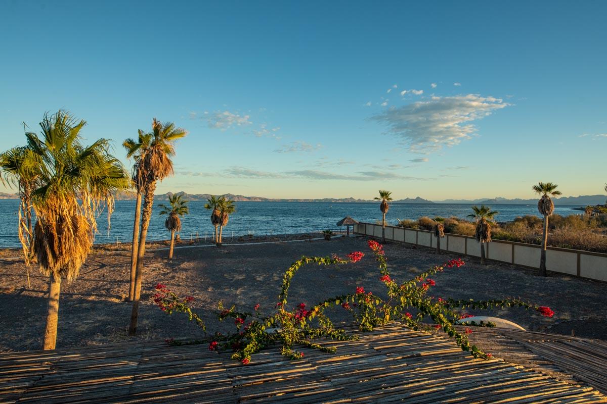 New Beachfront Home in Mil Palmas, Loreto Baja Sur: view of islands