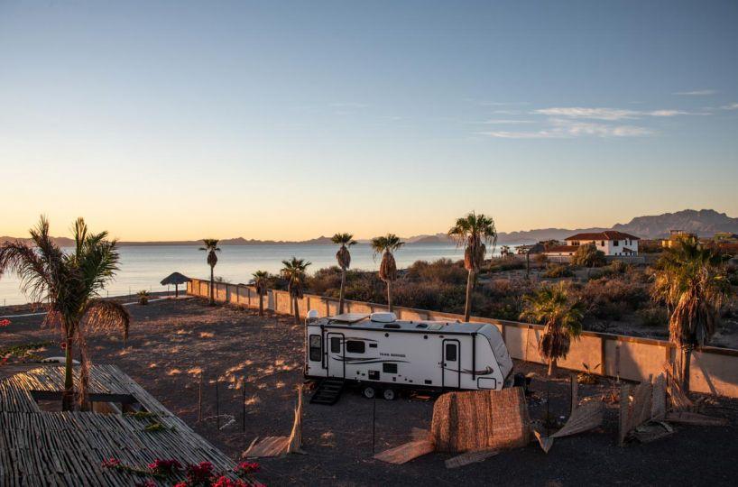 New Beachfront Home in Mil Palmas, Loreto Baja Sur