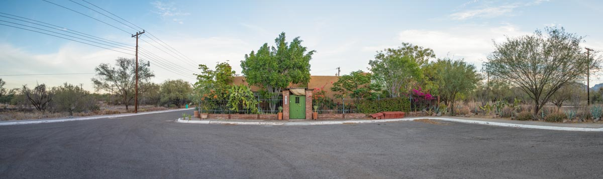 One level 2 bed/1.5 bath home: Casa Nopolo panoramic