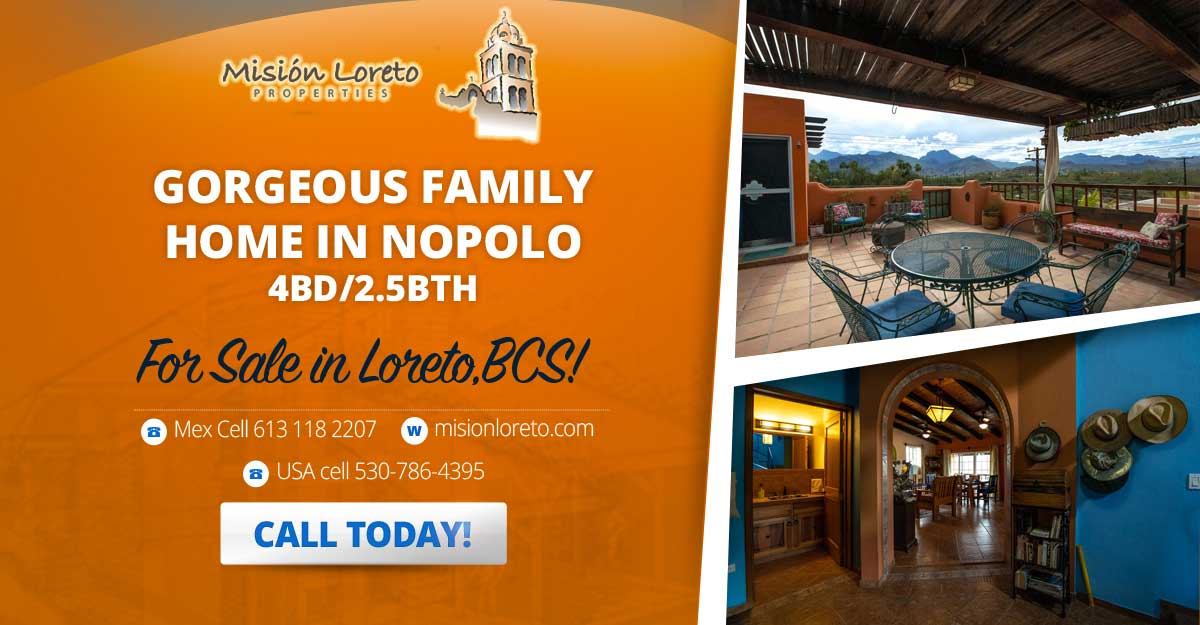 GORGEOUS FAMILY HOME IN NOPOLO