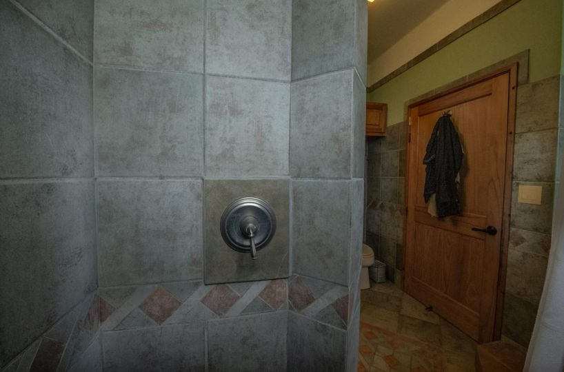 Four Bedroom Home With Amazing Sea Views: Primary shower.