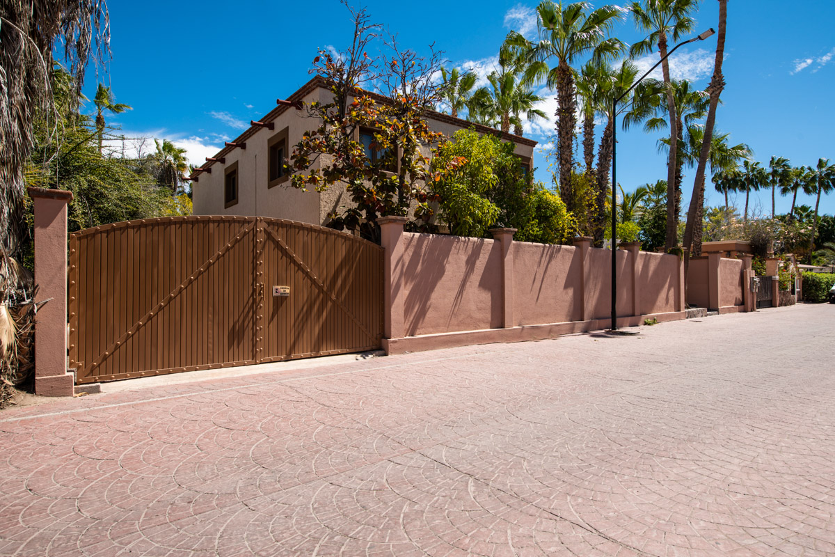 Beautifully restored four bedroom adobe home street front