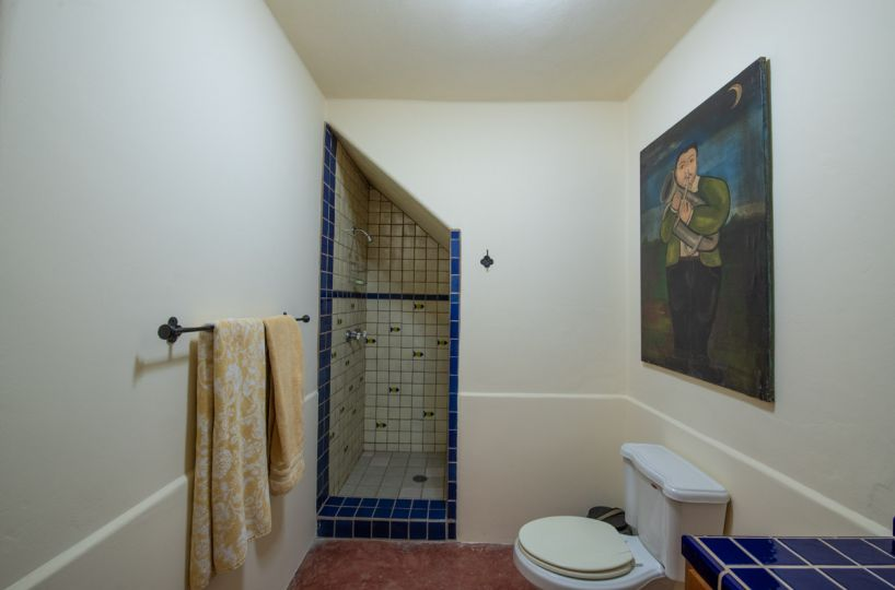 Beautifully restored four bedroom adobe home downstairs bath