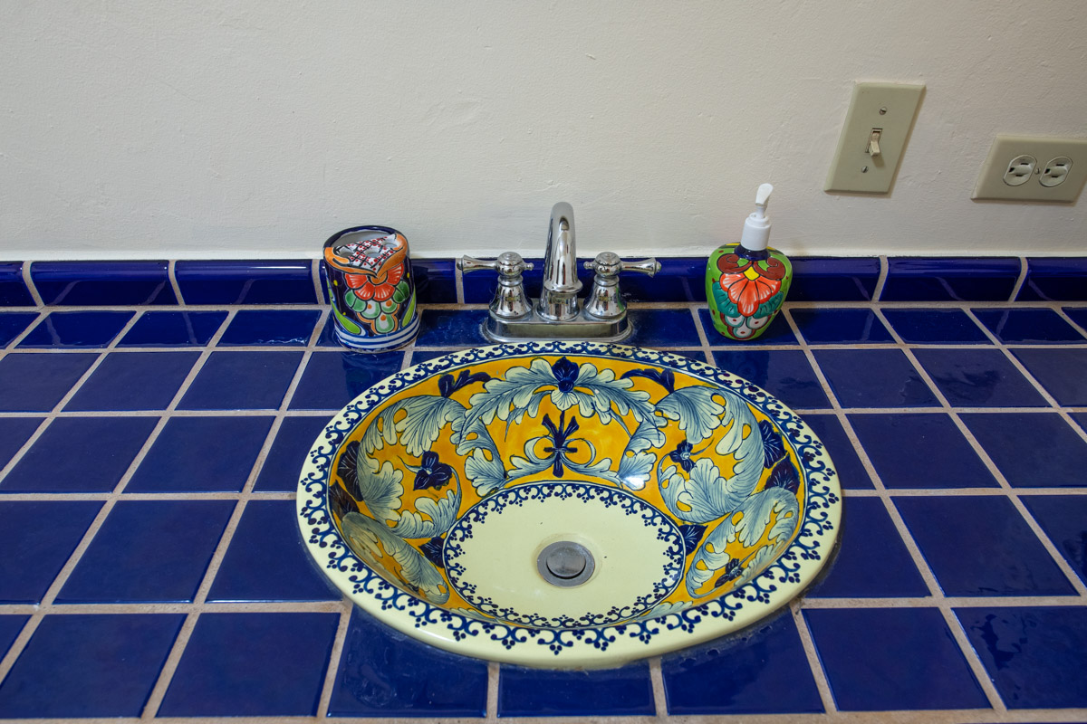 Beautifully restored four bedroom adobe home downstairs sink