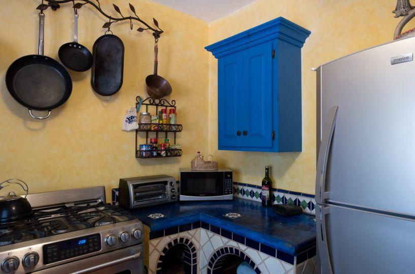 Beautifully restored four bedroom adobe home kitchen adobe casa