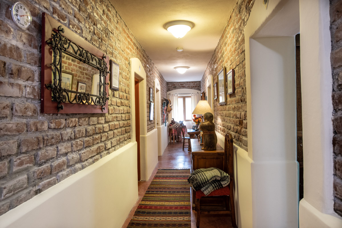 Beautifully restored four bedroom adobe home kitchen view