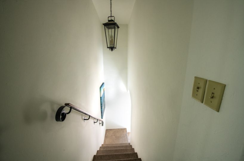Beautifully restored four bedroom adobe home staircase