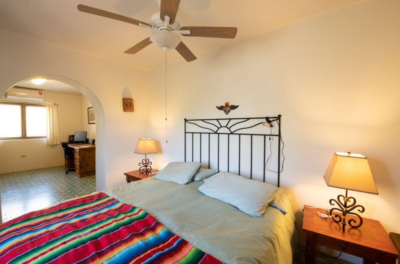 Beautifully restored four bedroom adobe home upstairs East bedroom