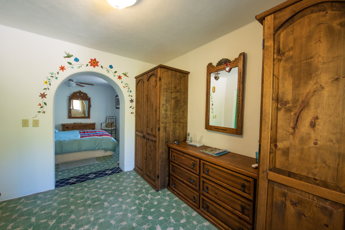 Beautifully restored four bedroom adobe home upstairs East office and bedroom