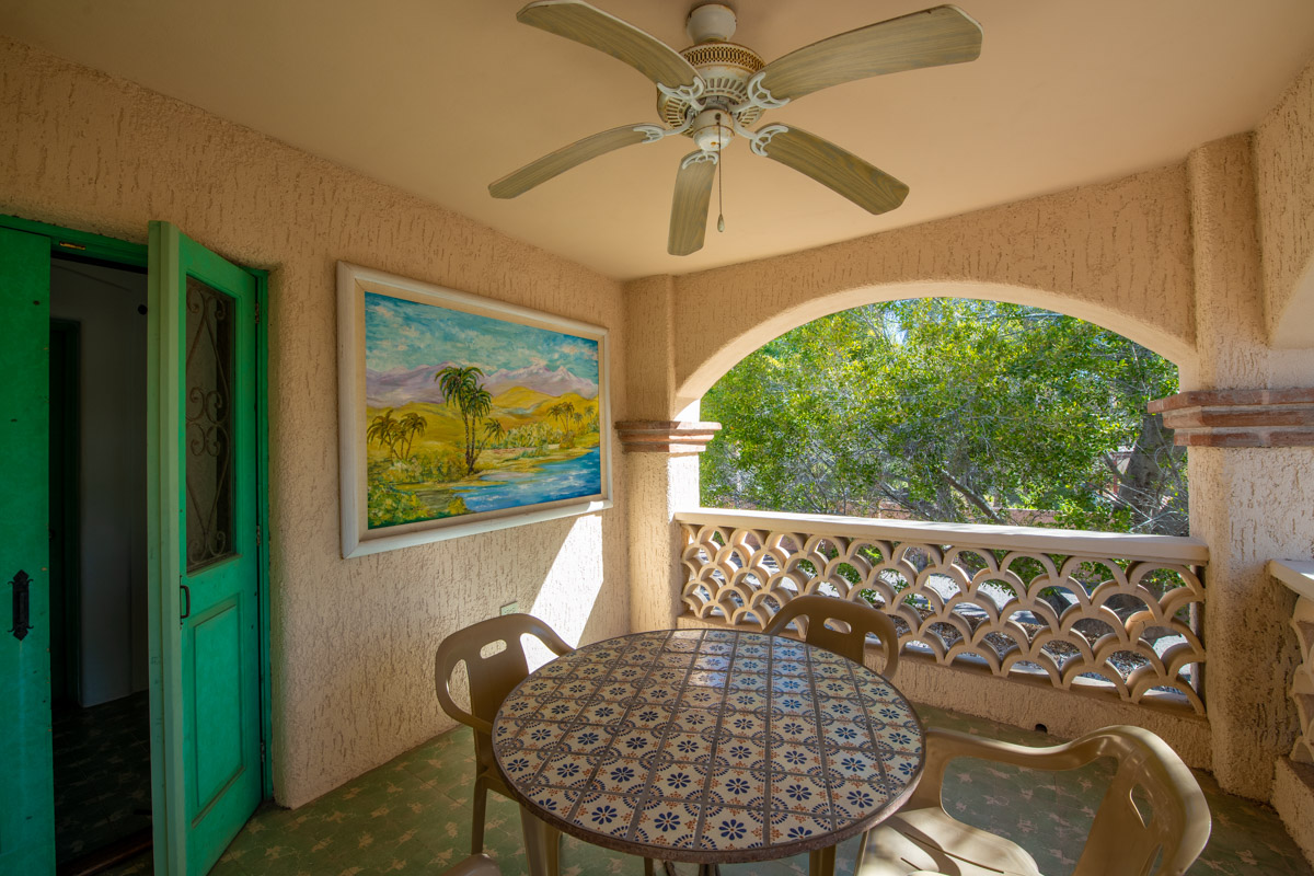 Beautifully restored four bedroom adobe home upstairs Terrace