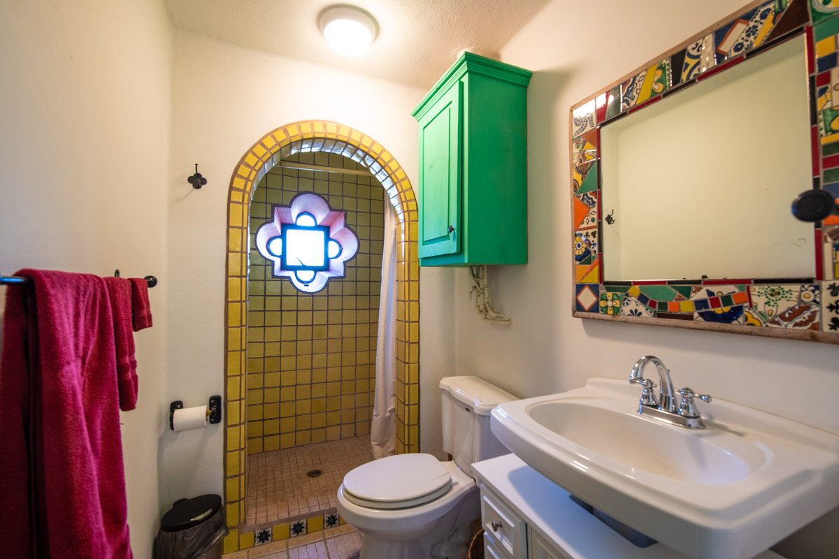 Beautifully restored four bedroom adobe home upstairs West bathroom